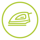Entretien du linge (lavage, repassage) - aide à domicile - Destia