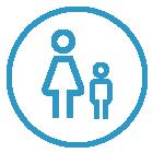 garde d'enfants, emmener et/ou aller chercher les enfants à l'école, crèche, assistante maternelle - Destia
