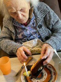 101 ans - Mme Sylvestre - Destia Aix en Provence
